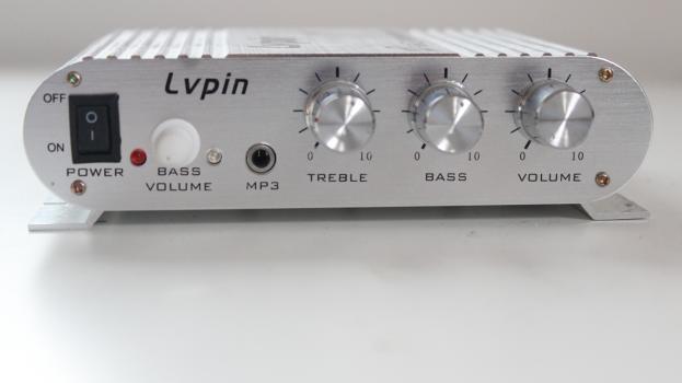 Zesilovač LP-838, 20W RMS (200W PMPO), MOSFET