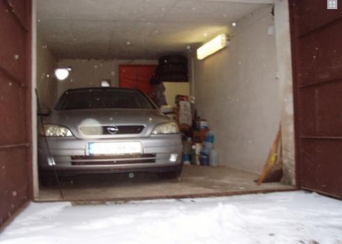 Prodej garáže Za Prachárnou, Jihlava
