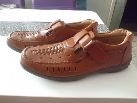 NEW WALK málo použitá pánská pohodlná obuv č43