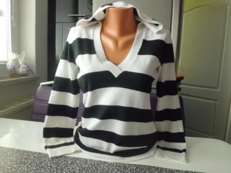 ORSAY pružná mikina-svetřík s kapucí M-L