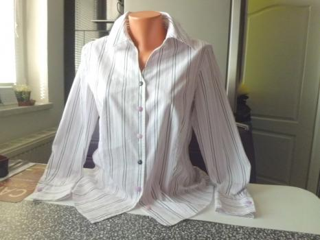 GERRY WEBER orig krásná pružná košile, blůzka č40