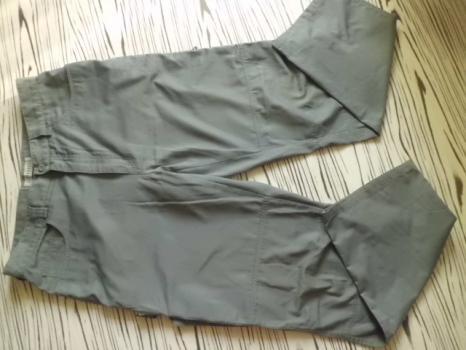 CLOCKHOUSE kval pánské šedé kalhoty 36/34