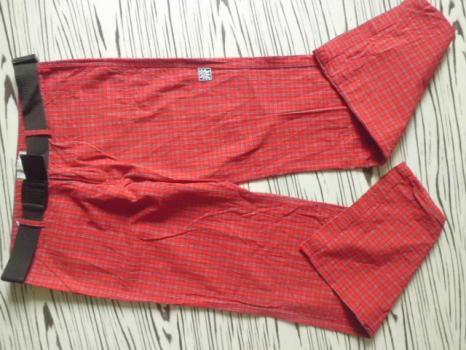 REJDICE kval pánské kalhoty s páskem M-L