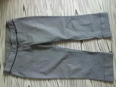 DIVIDED H-M kval pružné letní 3/4 kalhoty č40