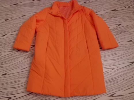 Jednou použ prošívaný teplý lehký kabát XXL-XXXL -