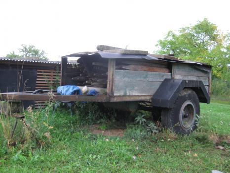 traktorová  vlečka -valník