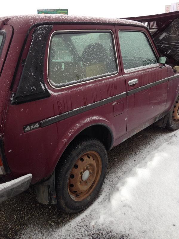 Prodám Lada Niva 4x4-1,7i+LPG Dobry stav