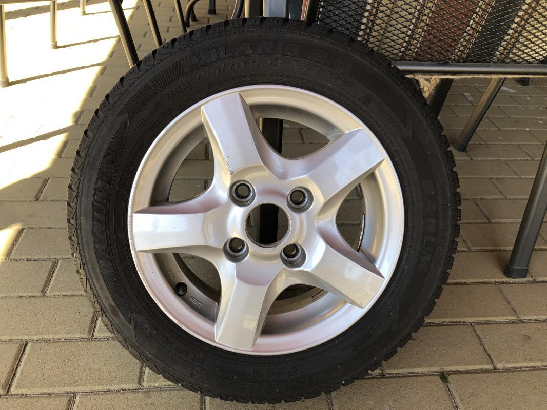 Prodej hliníkových disků včetně pneumatik 4ks