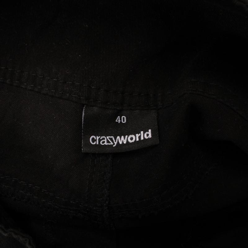 Šortky Crazy world černé