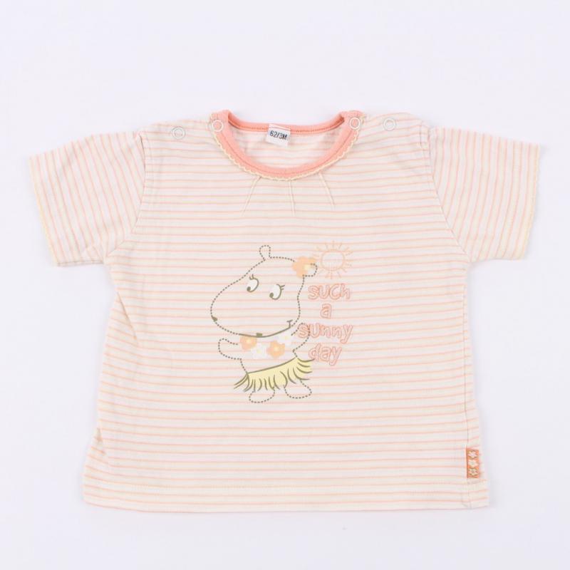 Dětské tričko proužkované
