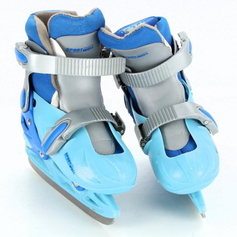 Sportwell modrošedé