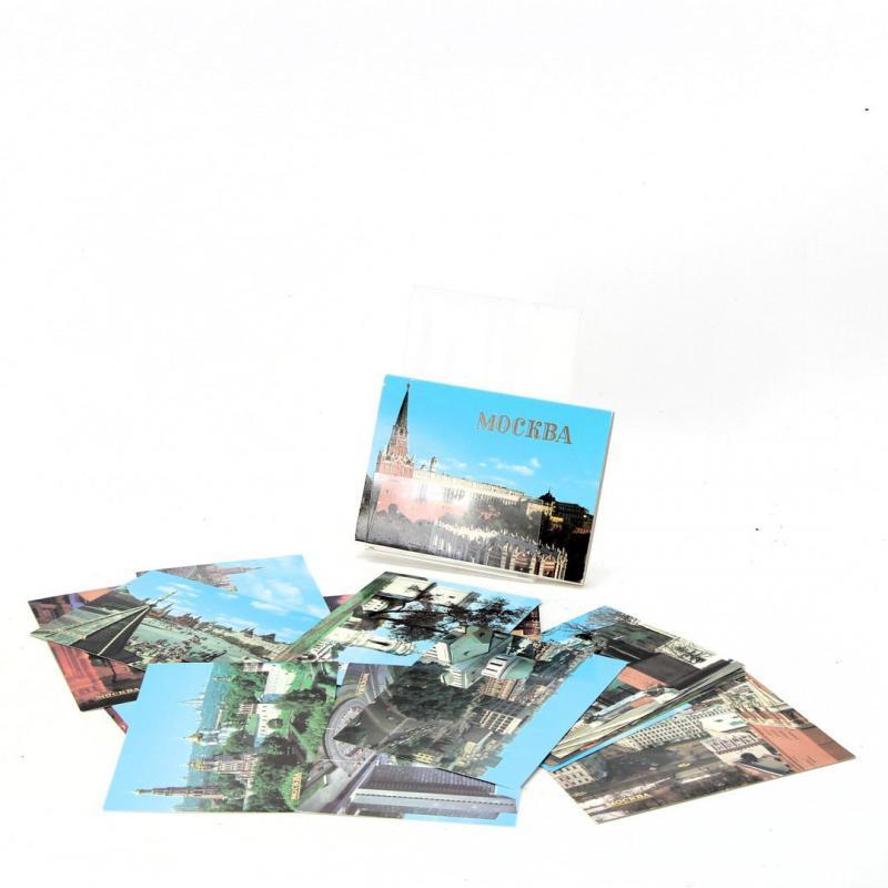 Kolekce fotografií Moskvy