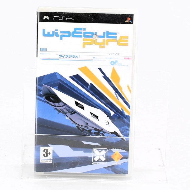 Hra pro PSP: Wipeout pure