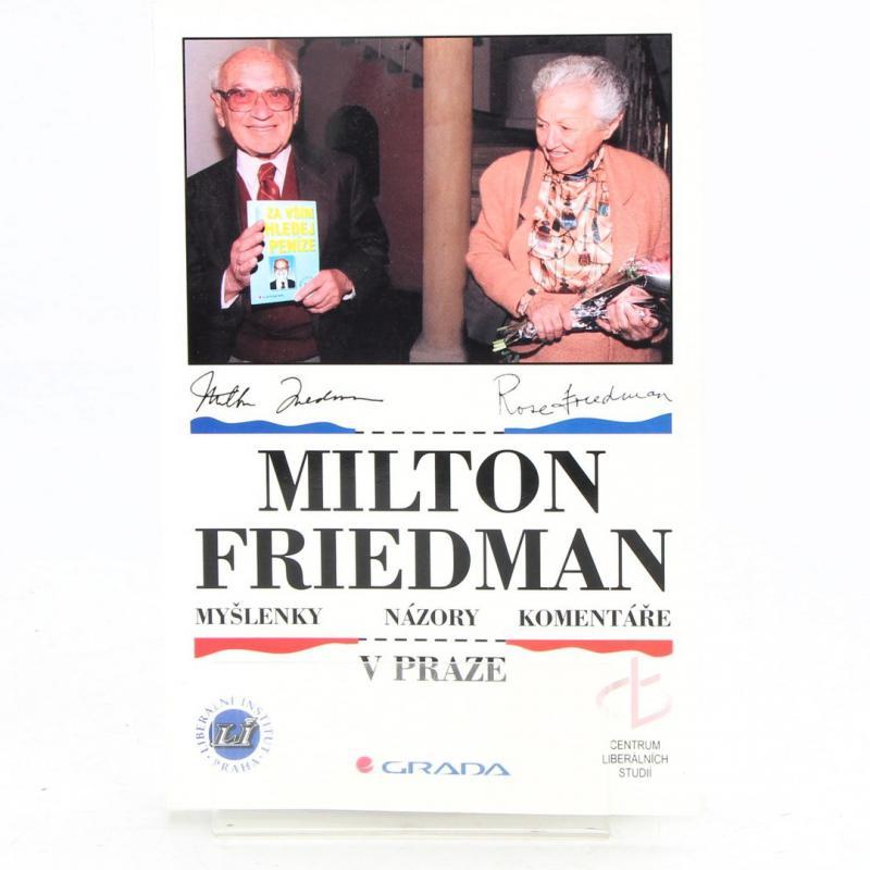 Kniha Milton Friedman v Praze