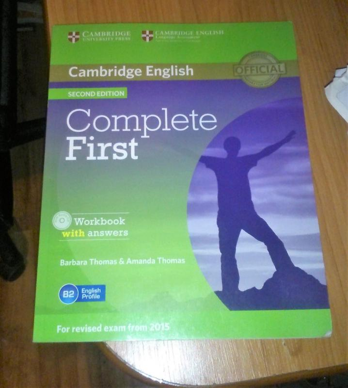 Complete First - workbook