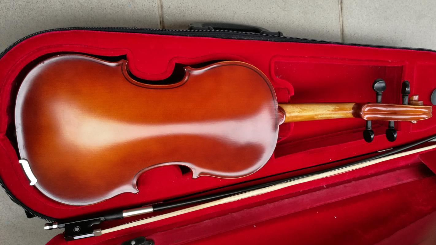 Prodám housle s obalem