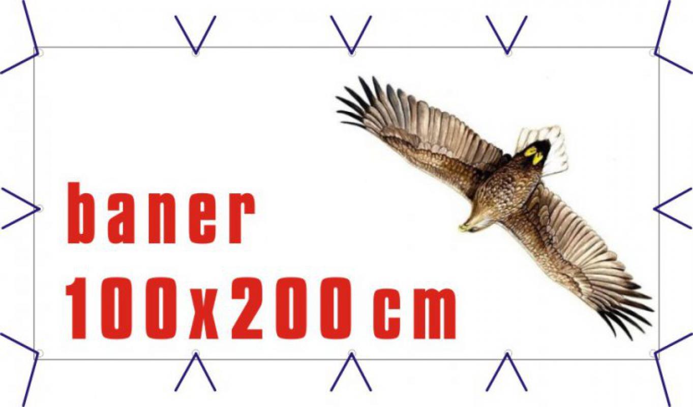 Fototisk na baner 100 x 200 cm