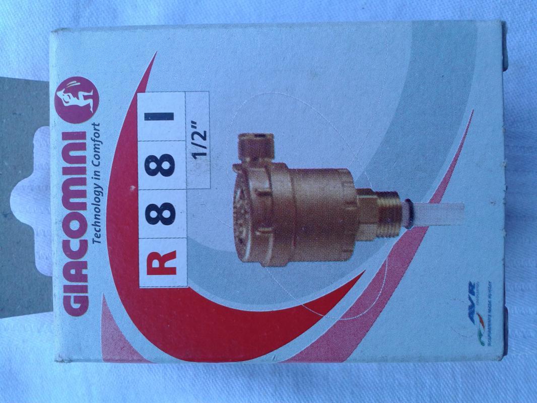 automatický odvzdušňovací ventil