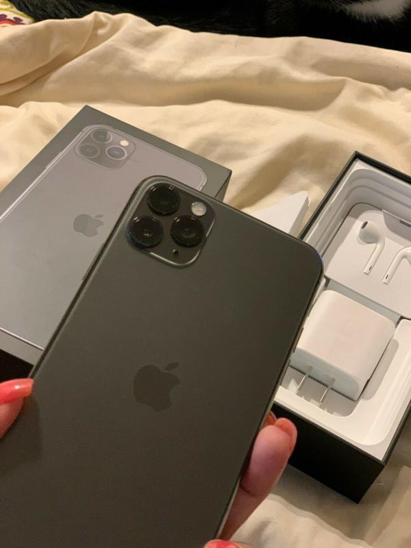 Apple iPhone 11 Pro Max 256 GB, pulnocne zelená