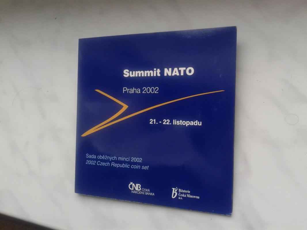 sada mincí ČR 2002 Summit NATO