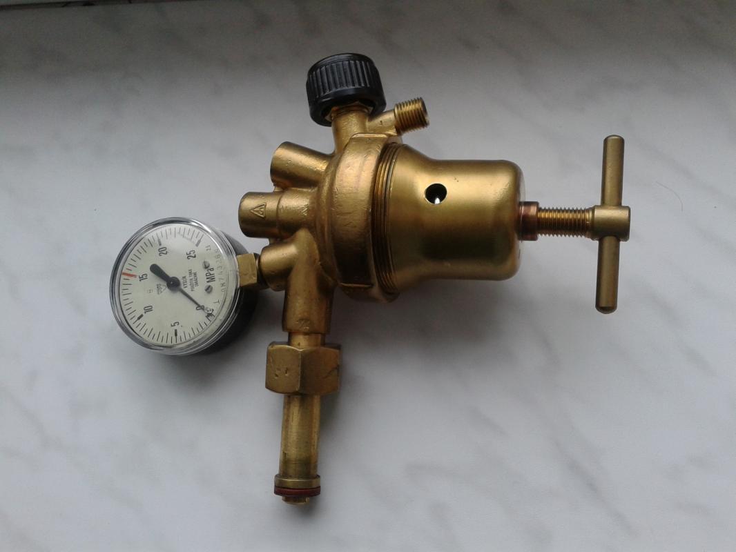 redukční ventil KYSLÍK