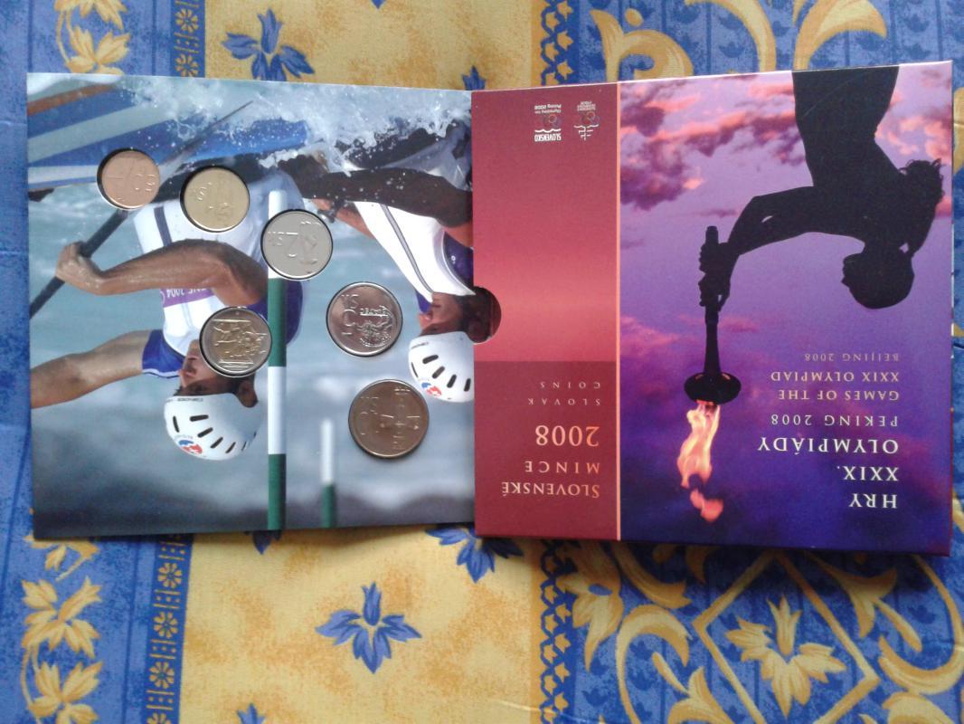 sada mincí SR 2008 - Olympijské hry Peking