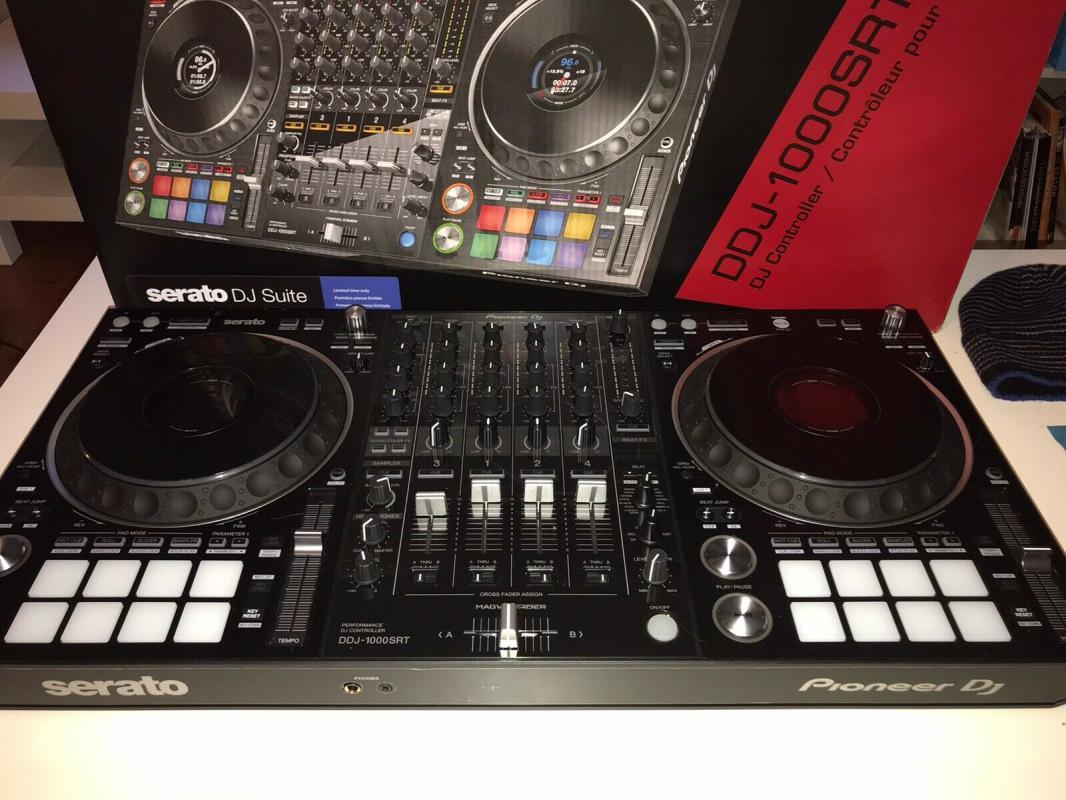 Zcela nový Pioneer DJ DDJ-1000SRT 4-kanálový profesionální D