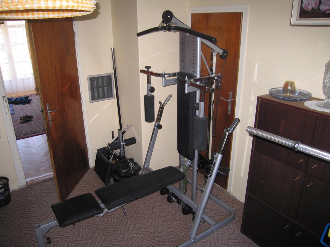 Profesionální stroj KETTLER CLASSIC 100