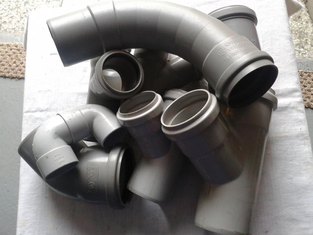 kanalizační tvarovky