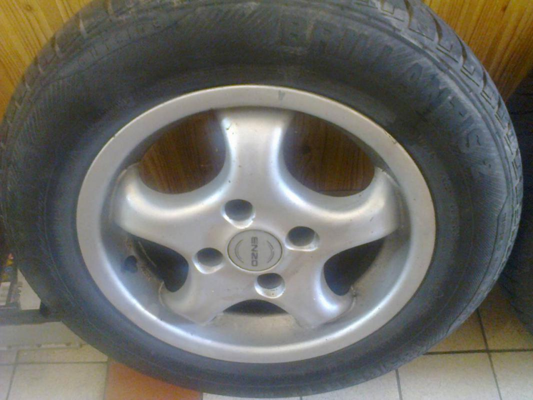 Prodám Alu kola ENZO 4x108 R14