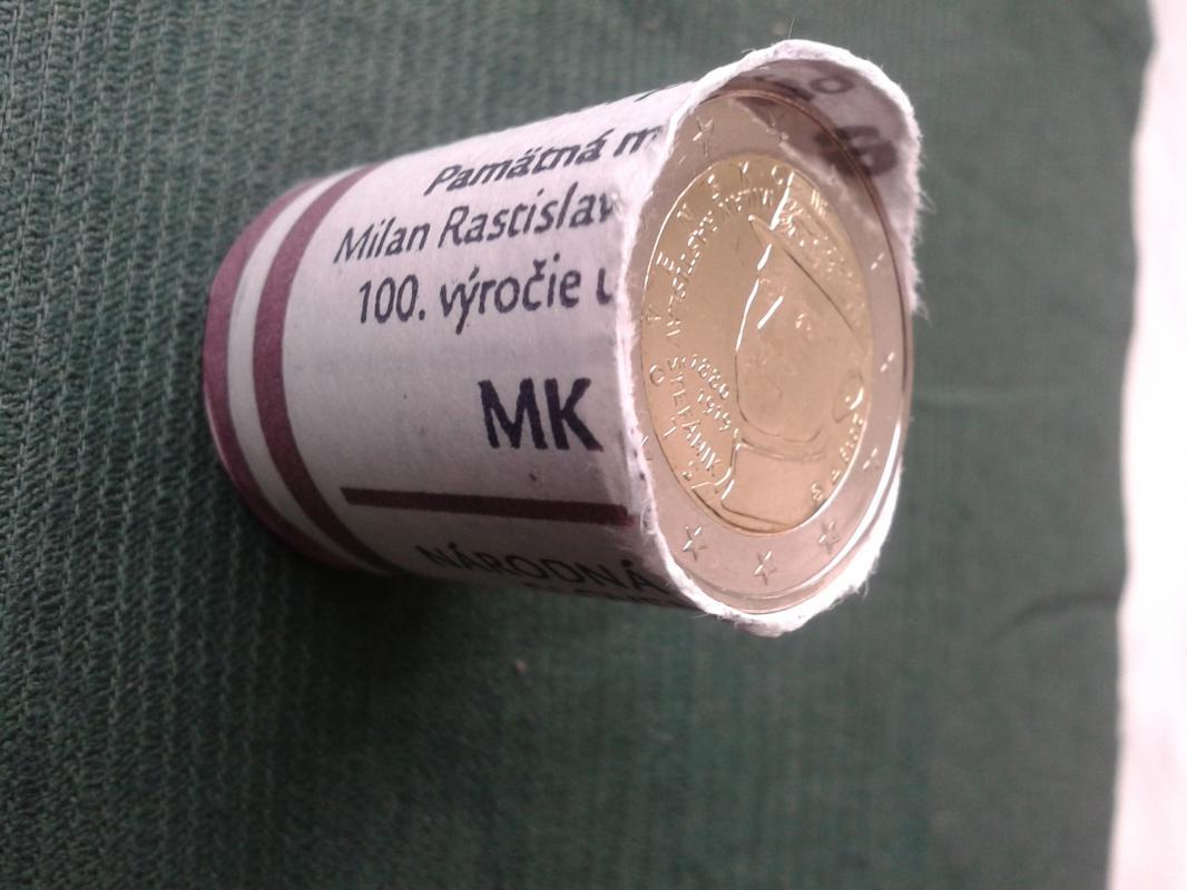 pamětní 2 euro Slovensko 2019